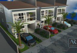 Projeto de um condomínio de casas