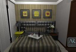 Reforma e decoração de Suite casal